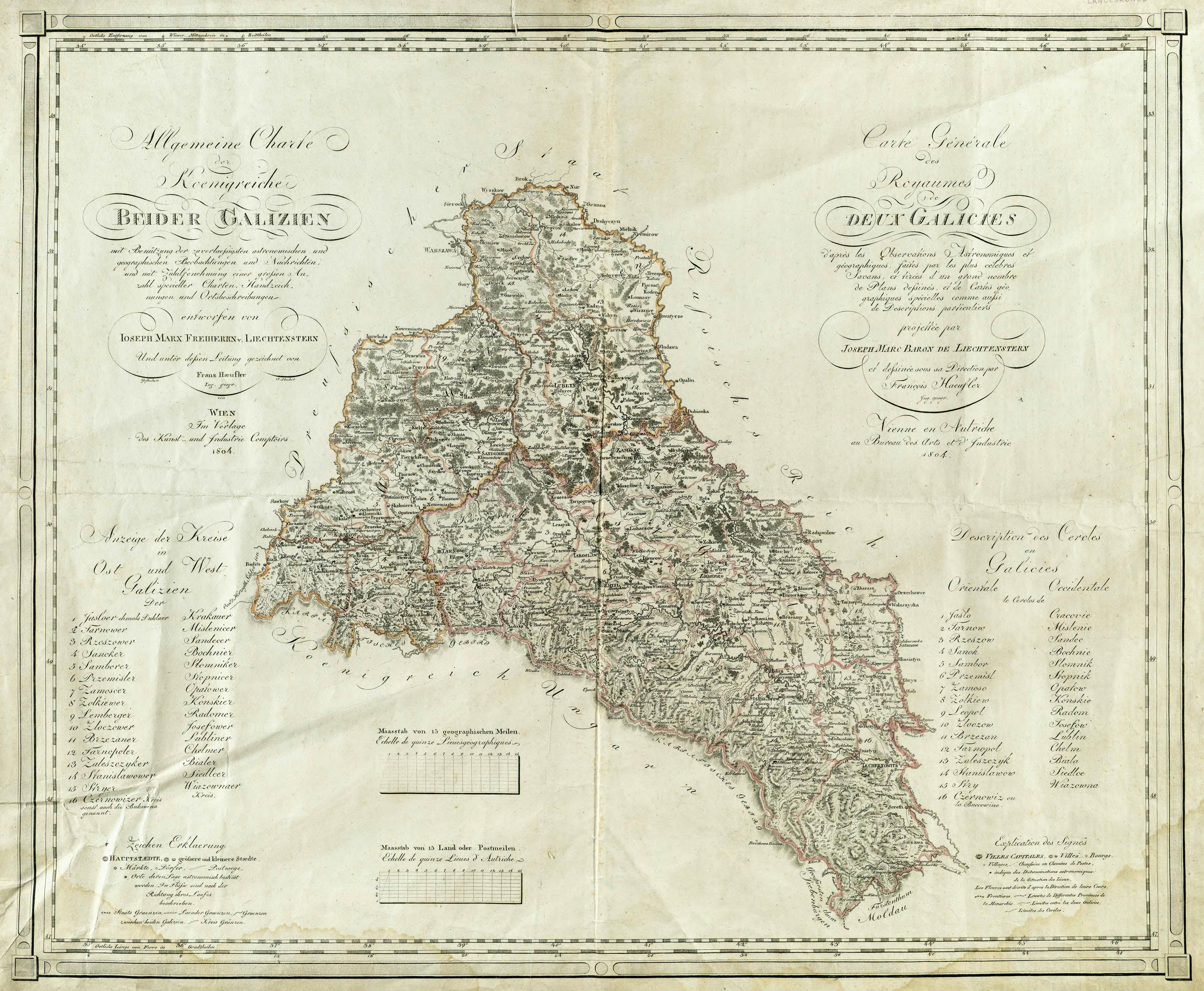 Topographic Maps of Eastern Europe